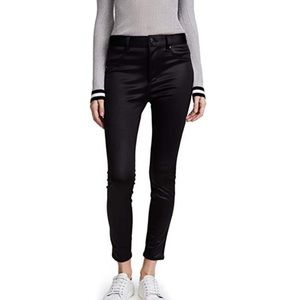 Rag & Bone High Rise Sateen Skinny Jeans